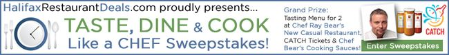 Enter the TASTE, DINE & COOK Like a CHEF Sweepstakes!