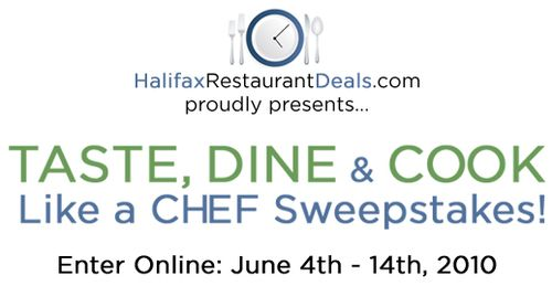 TASTE, DINE & COOK Like a CHEF Sweepstakes!