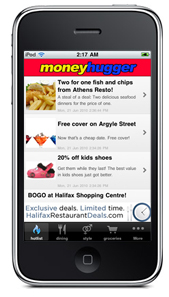 Moneyhugger on iPhone, iPod Touch and iPad