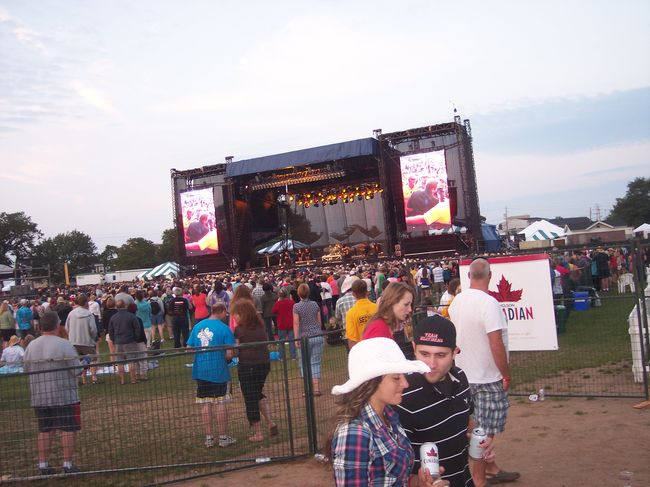 Cooking with Scanway at Country Rockfest 2010